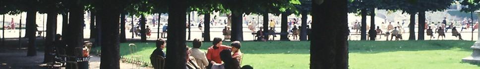 A Plumbline in the Wind Paris: Jardin des Tuileries